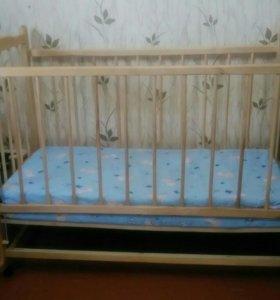 Кровать детская б/у, состояние хорошее