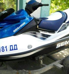 Гидроцикл BRP GTX 155 2008 г.