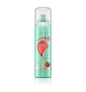 Освежающий спрей дезодорант для ног