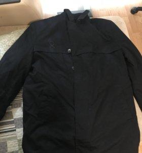 Куртка военная демисезонная с воротником