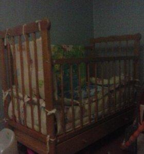 кроватку детская