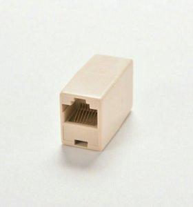 Проходной адаптер, Переходник для кабеля RJ45