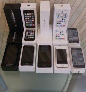Новые Айфоны/iPhone 5/5s/6 16gb