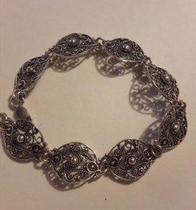 Браслет серебро 925 пробы 19,5 см