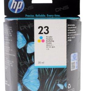 Цветной картридж HP 23