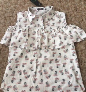 Новая блузка на лето