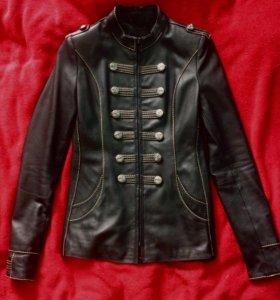 куртка-пиджак натур кожа