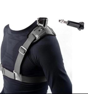 Крепления на экшн камеру на плечо,грудь и голову.