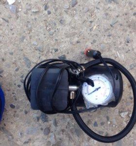 Электрический авто насос, провода прикуривания