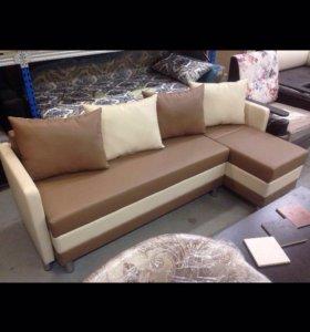 Глорикс-М кухонный угловой диван трансформер