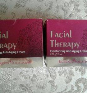 Ночной увлажняющий антивозрастной крем Facial ther