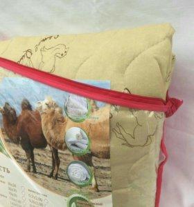 Одеяло шерсть верблюжья 1,5 спальное
