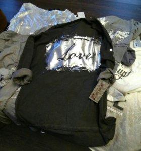 Италия туники, футболки, свитера
