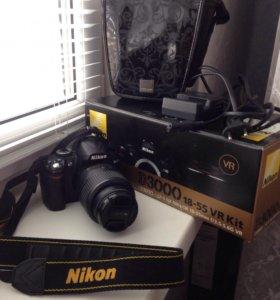 Nikon d3000 18-55VR Kit