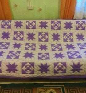 Лоскутное одеяло - покрывало в стиле пэчворк