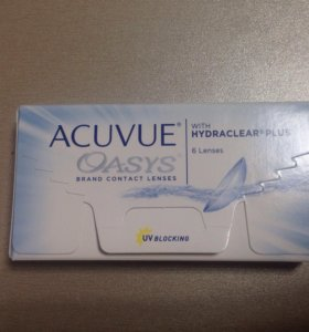 Линзы контактные acuvue oasys