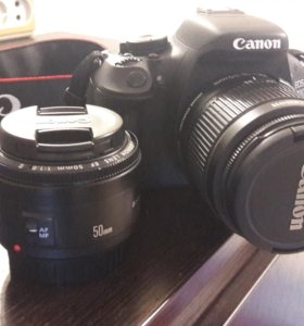 Фотоаппарат Canon 600d+ 50mm f