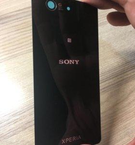 Sony Xperia compact z3 стеклянная крышка задняя