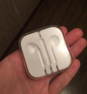 Коробка от earpods оригинал