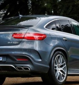 Диффузор и насадки 6,3 amg Mercedes GLE Coupe