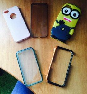 Чехлы на IPhone 5,4s