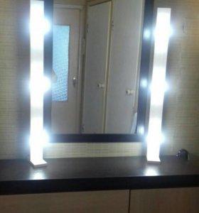 Лампы для макияжа, световые стойки
