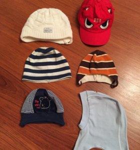 Детские шапочки и кепка