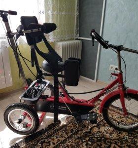 Велосипед для реабилитации детей ДЦП