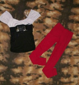 Блузка и брюки