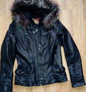 Куртка кожаная👍