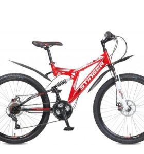 """Велосипед СТИНГЕР 26"""" Highlander 100D; 16"""" 18СК,"""