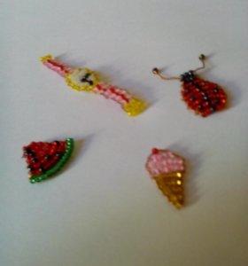 Фигурки из бисера плетения