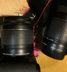 Canon EOS 650D + 2 объектива
