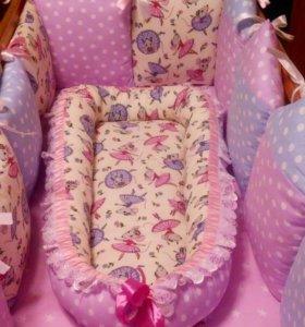 Бортики в кроватку и гнездышко