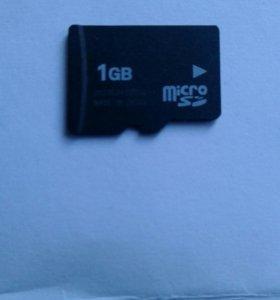 Карта памяти 1 GB