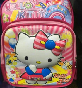3D рюкзак Hello kitti детский