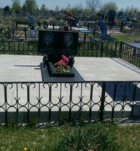 Работы на кладбище