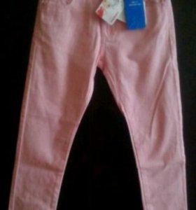 122см новые джинсы/брюки FuturinoGirls для девочки