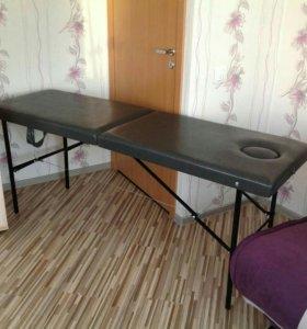 Новый раскладной массажный стол grey
