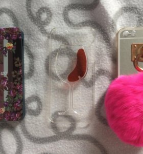 Чехлы на iPhone 5/5s/SE б/у