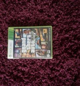 Продаю GTA 5 на XBOX 360 (Лицензионный)