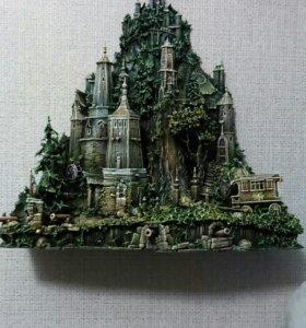 """""""сторожевая башня """"ручная работа дерево"""