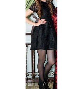 Платье красивое черненькое. Надето 1раз