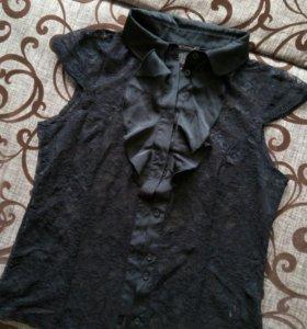 Гипюровая блузка