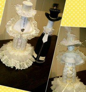 Свадебные и праздничные наряды на шампанское