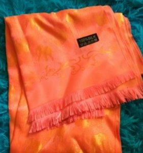 Шелковый платок, шарф