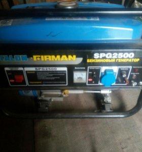 Бензиновый генератор на 2,5
