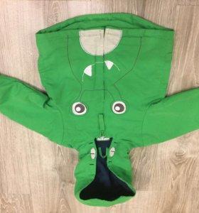Куртка на флисовой подкладке