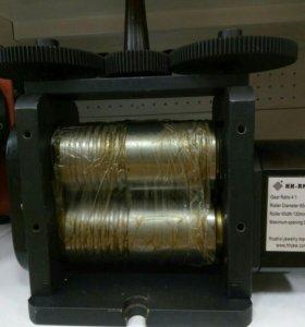 Вальцы ручные с редуктором 130 мм