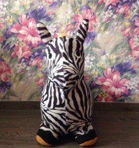 Резиновая зебра попрыгун